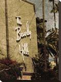 Beverly Hills Hotel 4 Stretched Canvas Print by Dale MacMillan