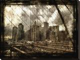 New york city Stretched Canvas Print by Dale MacMillan