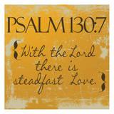 Psalms 130-7 Orange Prints by Taylor Greene