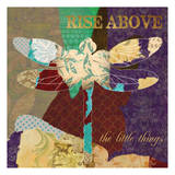 Rise Above Dragonfly Posters by Taylor Greene