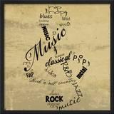 Music Note Prints by Anna Quach