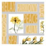 Mondrian Flowers 1 Poster by Albert Koetsier