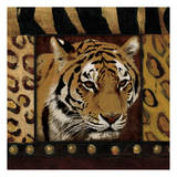 Tiger Bordered Prints by Jace Grey