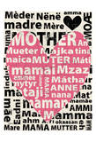 Mother Languages 1 Poster by Carole Stevens