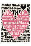 Mother Languages 1 Póster por Carole Stevens