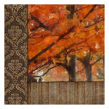 Amber Damask Tree I Prints by Taylor Greene