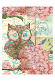Owl A Prints by Elizabeth Jordan