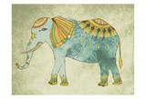 Indian Elephant Prints by Jace Grey