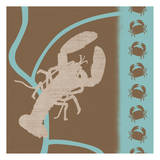 Lobster Pattern Posters by Lauren Gibbons