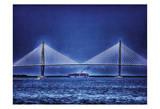 Arthur Ravenel Bridge Posters by Scott Cushing