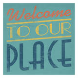 Welcome Prints by Jace Grey