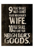 10 Commandments2 Print by Jace Grey