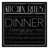 kitchen Rules 2 Poster von Jace Grey