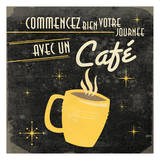 Coffee French Poster by Jace Grey