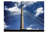 Arthur Ravenel Bridge Print by Scott Cushing