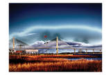 Arthur Ravenel Bridge Prints by Scott Cushing