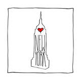 Love NY Prints by  OnRei