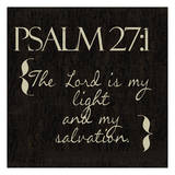 Psalm 27-1 Posters by Taylor Greene