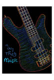 Neon Bass Prints by Suzanne Foschino
