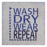 Wash Dry Posters by Lauren Gibbons