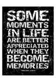 Memories Prints by Jace Grey