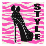 Style Zebra Poster by Taylor Greene