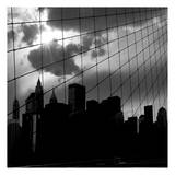 Bridge Square Poster by Scott Cushing