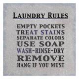 Laundry Rules Schilderijen van Lauren Gibbons