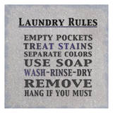 Laundry Rules Prints by Lauren Gibbons