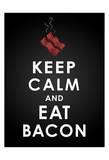 Bacon Affiche par Jace Grey