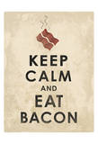 Bacon 3 Prints by Jace Grey