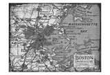 Environs BOSTON Print by Carole Stevens