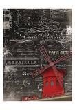 Carole Stevens - Eco Vintage Paris 2 - Art Print