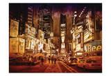 NY Times Square Prints by Scott Cushing