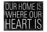 Hjerte Posters av Jace Grey