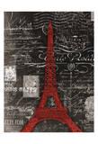Eco Vintage Paris 1 Posters par Carole Stevens