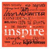 Carole Stevens - Inspire - Poster