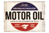 Motor Oil Poster by Taylor Greene