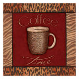 Coffee Time Print by Jace Grey