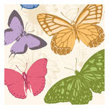 Colorful Butterflies 2 Posters by Jace Grey