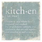 Kitchen Definition 2 Prints by Jace Grey