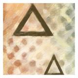 Abstract Triad IV Print by Taylor Greene