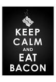 Bacon BW Prints by Jace Grey