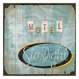 Motel Poster by Jace Grey