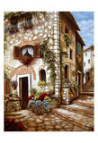 Italian Alley II Posters by Nora St. Jean