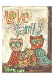 Love Family Prints by Erin Butson