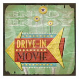 Drive In Prints by Jace Grey