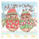 Christmas Owl 3 Posters by Erin Butson