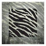 Animal Instinct Zebra Kunstdruck von Kristin Emery