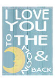 To The Moon and Back Poster autor Taylor Greene